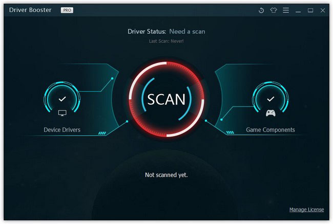 IObit Driver Booster Pro 5.2.0.688 + Serial Key | Crack | License Key