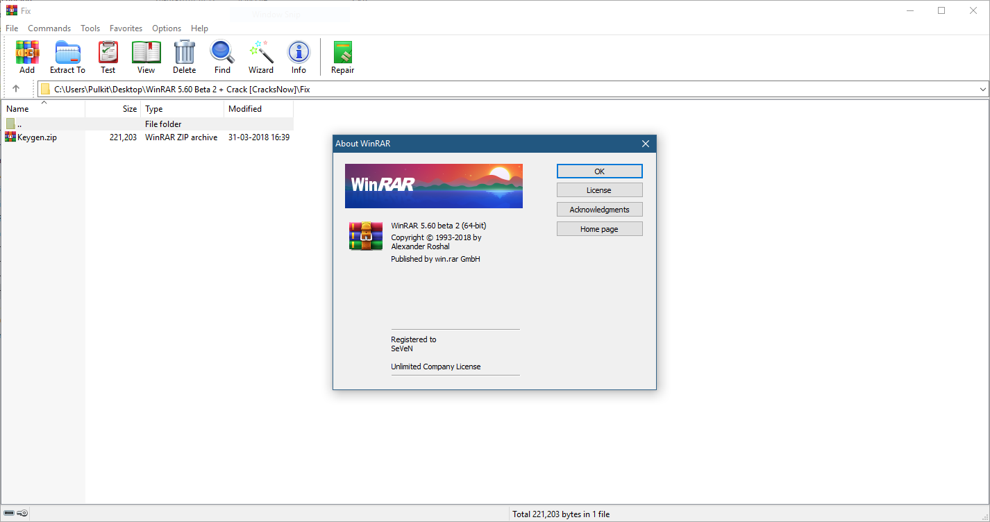 WinRAR 5.60 Beta 2 Crack+Serial Key Full Free Version